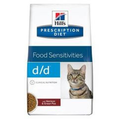 Hills Prescription Diet D/D Food Sensitivities Feline with Venison & Green Pea Dry 1.5kg