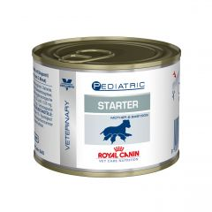 Royal Canin Veterinary Care Nutrition Pediatric Starter Medium Dog Mousse - 12x95g Can