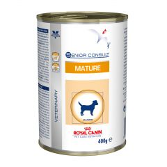 Royal Canin Veterinary Care Nutrition Senior Consult Dog Wet 12x400g Can