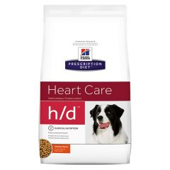Hills Prescription Diet H/D Heart Care Canine with Chicken Dry 5kg