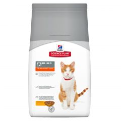 Hills Science Plan Sterilised Cat Young Adult with Chicken Dry