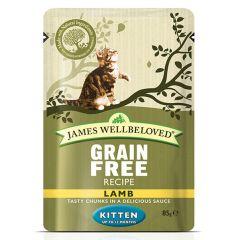 James Wellbeloved Grain Free Kitten Food Wet Pouches