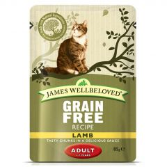 James Wellbeloved Grain Free Adult Cat Food Wet Pouches