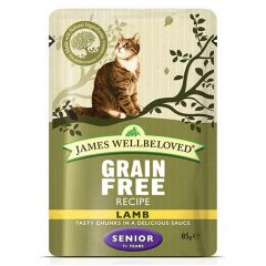 James Wellbeloved Grain Free Senior Cat Food Wet Pouches