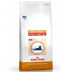 Royal Canin Vet Care Nutrition Senior Consult Cat Stage 2 High Calorie Dry
