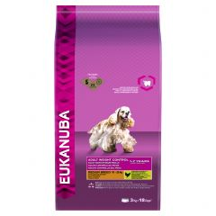 Eukanuba Adult Weight Control Medium Breed Dog with Chicken