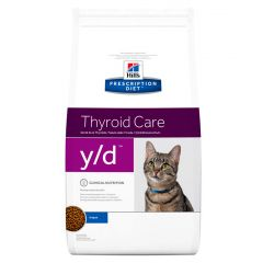 Hills Prescription Diet Y/D Thyroid Care Feline Original Dry