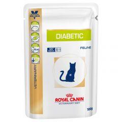 Royal Canin Veterinary Diet Feline Diabetic Wet 48x100g Pouches