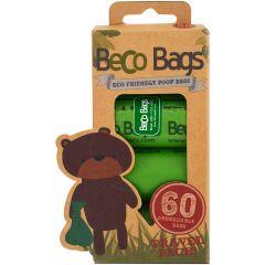 Beco Bags - Eco Friendly Poop Bags - 60 pack