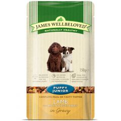 James Wellbeloved Puppy Food Wet Pouches
