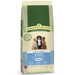 James Wellbeloved Junior Large Breed Dog with Fish & Rice Dry