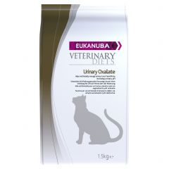 Eukanuba Veterinary Diets Urinary Oxolate Cat Food with Chicken Dry 1.5kg