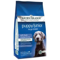 Arden Grange Puppy/Junior Large Breed Dog with Chicken & Rice Dry