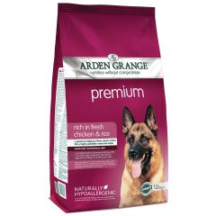 Arden Grange Premium Adult Dog with Chicken & Rice Dry