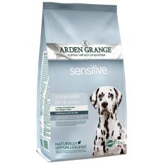 Arden Grange Sensitive Adult Dog with Ocean White Fish & Potato Dry