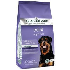 Arden Grange Adult Large Breed Dog with Chicken & Rice Dry 12kg