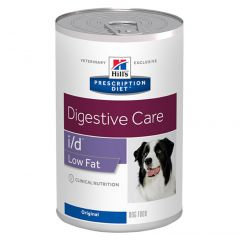 Hills Prescription Diet I/D Digestive Care Canine Low Fat Wet 12x360g Can