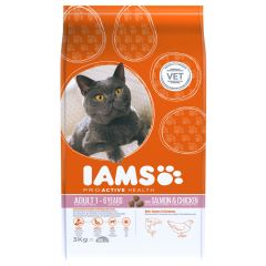 IAMS ProActive Health Adult Cat with Salmon & Chicken Dry