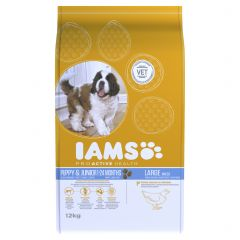 IAMS ProActive Health Puppy/Junior Large Breed with Chicken Dry