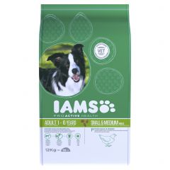 IAMS ProActive Health Adult Dog Small/Medium Breed with Chicken Dry
