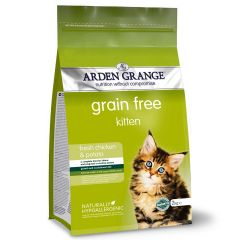 Arden Grange Grain Free Kitten with Fresh Chicken & Potato Dry