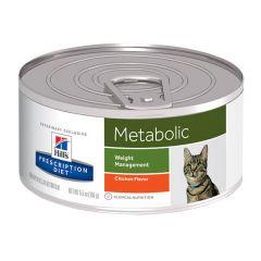 Hills Prescription Diet Metabolic Weight Management Feline Wet 24x156g Can