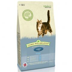 James Wellbeloved Light Adult Cat with Fish Dry