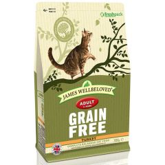 James Wellbeloved Grain Free Adult Cat with Turkey Dry