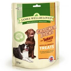 James Wellbeloved Crackerjacks Treats 6x225g