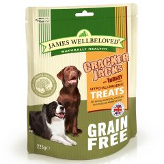 James Wellbeloved Crackerjacks Grain Free Treats