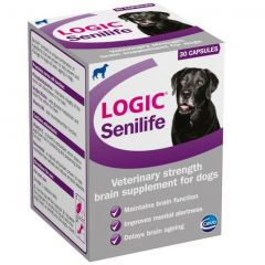 Logic Senilife Capsules for Dogs - Pack of 30