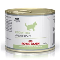Royal Canin Veterinary Care Nutrition Feline Pediatric Weaning Food Wet 12x195g Can