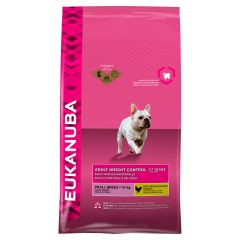 Eukanuba Adult Weight Control Small Breed Dog with Chicken