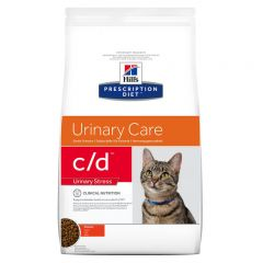 Hills Prescription Diet C/D Urinary Stress Feline with Chicken Dry