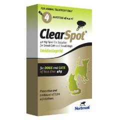 Clearspot Spot On Flea Treatment