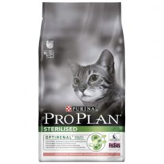 Purina Pro Plan Sterilised Adult Cat Optirenal with Salmon