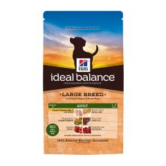 Hills Ideal Balance Canine Adult Large Breed with Chicken & Brown Rice Dry 12kg
