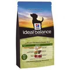 Hills Ideal Balance Canine Adult with Fresh Chicken & Brown Rice Dry
