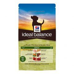 Hills Ideal Balance Adult Dog with Chicken & Brown Rice Dry 4x700g