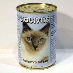 Liquivite Liquid Cat Food 395g Can