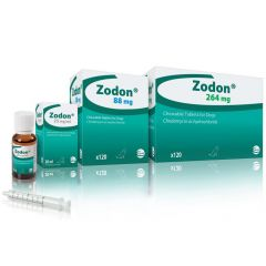 Zodon Chewable Tablet for Dogs - 264mg