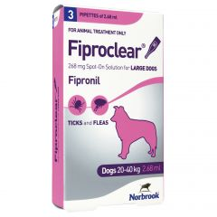 Fiproclear Spot On Flea and Tick Treatment for Dogs