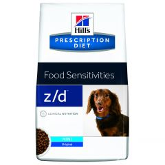 Hills Prescription Diet Z/D Food Sensitivities Canine Mini Dry