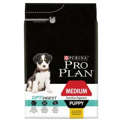 Purina Pro Plan Puppy Medium Sensitive Digestion with Chicken Dry