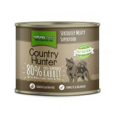 Natures Menu Country Hunter Rabbit Dog Food 6x600g Cans