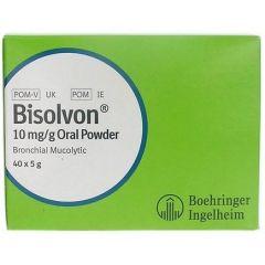 Bisolvon 10mg Oral Powder - 5g Sachet