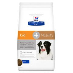 Hills Prescription Diet K/D + Mobility Kidney + Joint Care Canine Dry