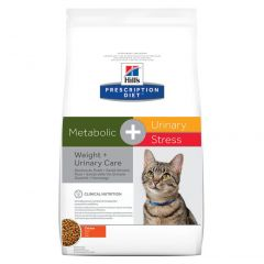 Hills Prescription Diet Metabolic + Urinary Stress Feline Dry