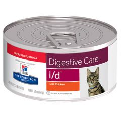 Hills Prescription Diet Digestive Care I/D Feline with Chicken Wet