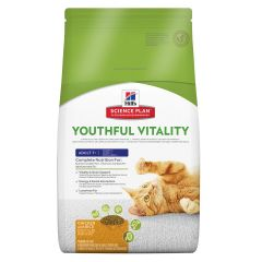 Hills Science Plan Youthful Vitality Feline 7+ Chicken & Rice Dry